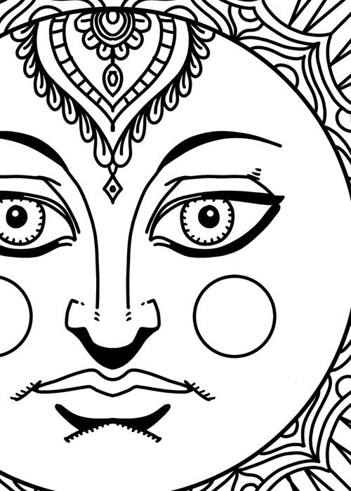 Sun Goddess Detail 1