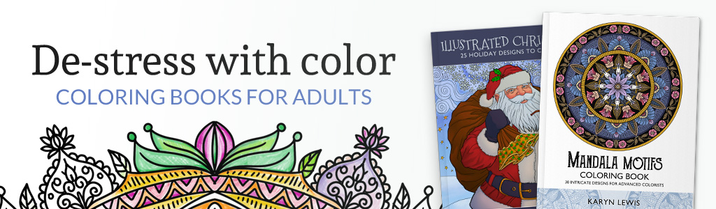- Advanced Coloring Books Karyn Lewis Illustration